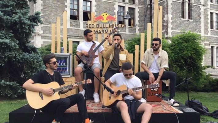 Red Bull Music Warm Up ile sesini duyuracakgenç müzisyenler belli oldu