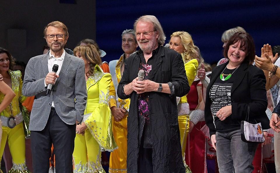 Bjorn Ulvaeus, Benny Andersson ve Catherine Johnson