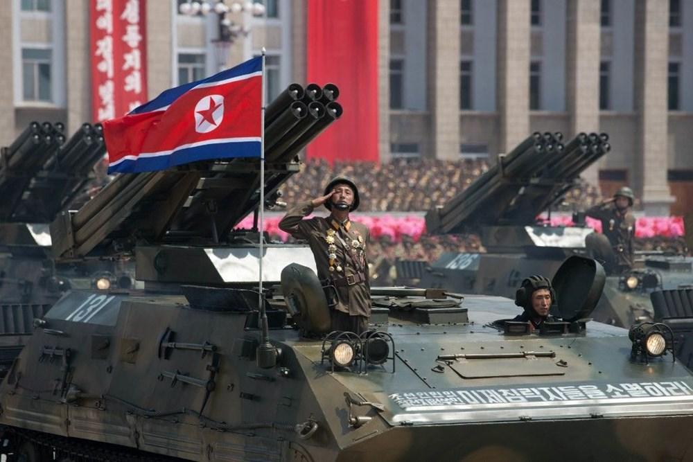 Kuzey Kore tarihi geçit törenine hazırlanıyor - 1