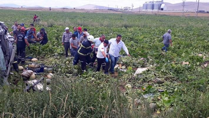 Nevşehir'de minibüs ile TIR çarpıştı: 7 ölü, 11 yaralı