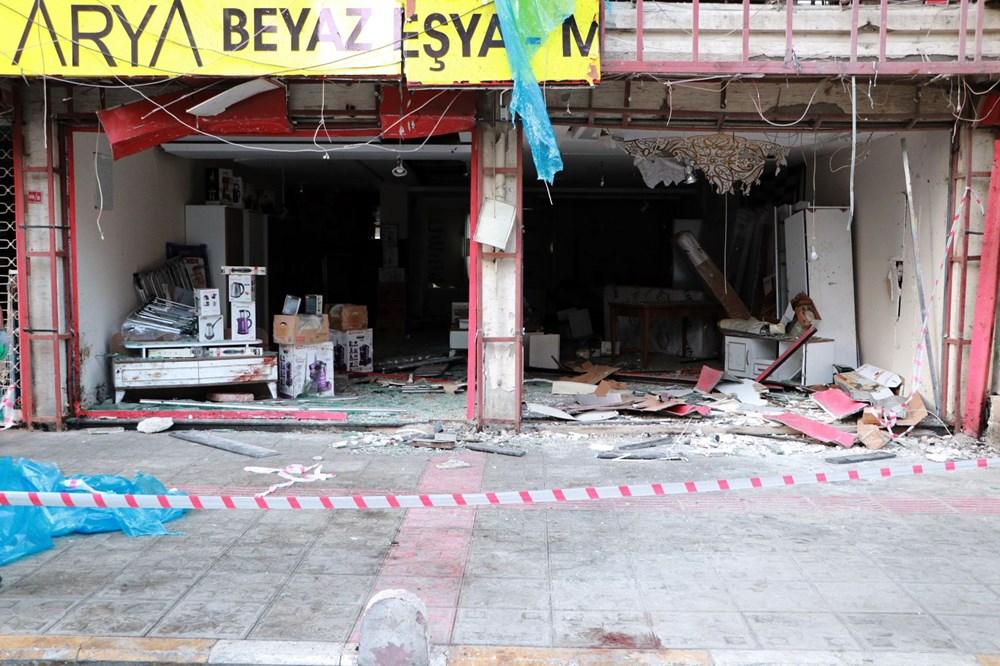 İskenderun'da patlamanın yaşandığı caddede teröre 'Türk bayraklı' tepki - 11