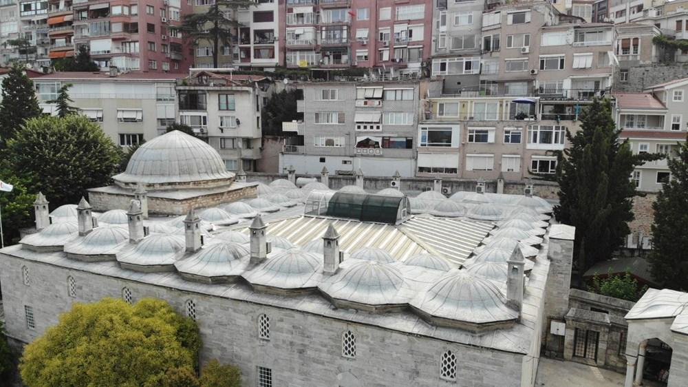 Üsküdar'daki 472 yıllık tarihi camiiye klima ünitesi - 8