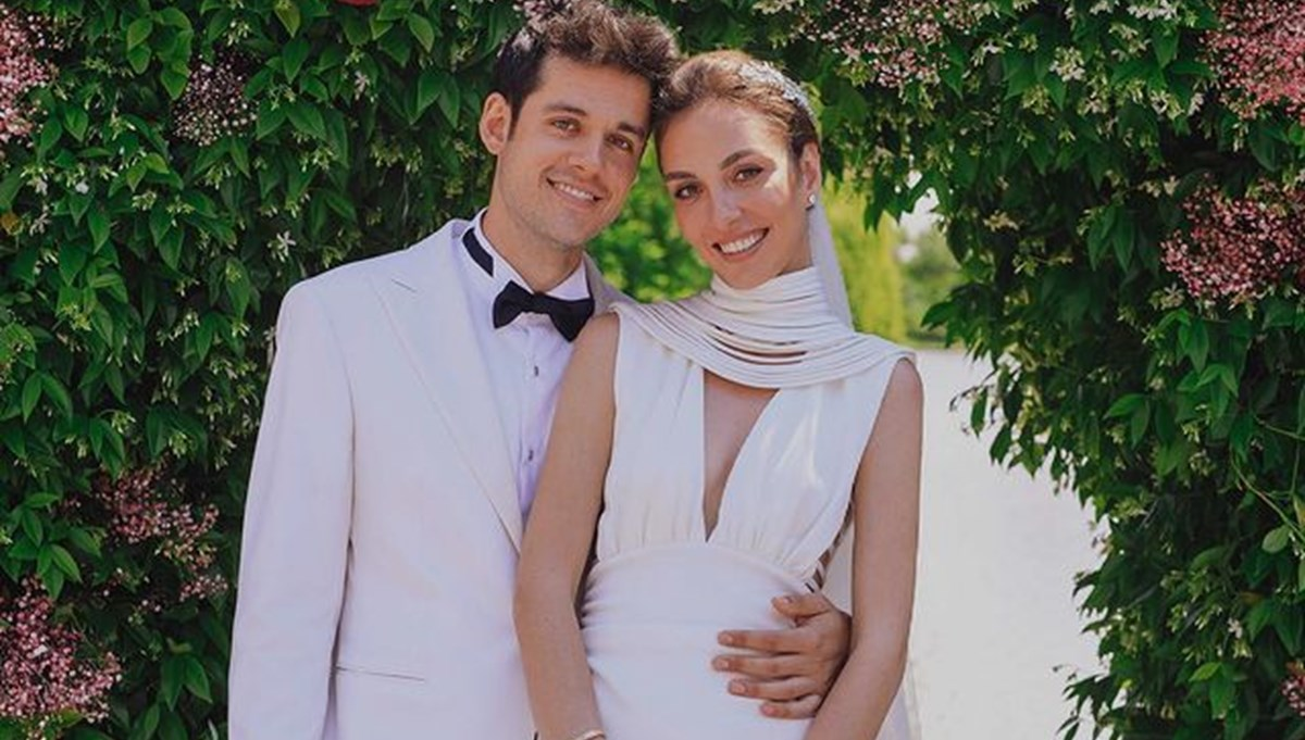 Orkun Işıtmak ile Merve Yorgancılar evlendi
