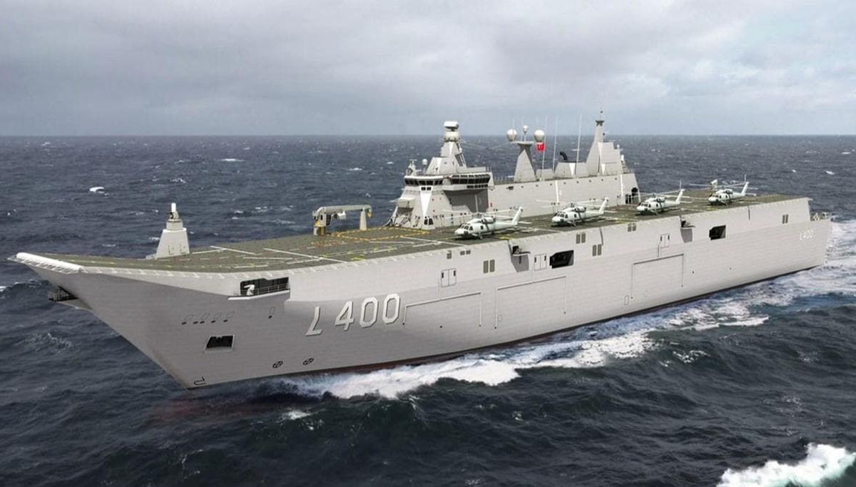 Türkiye'nin en büyük savaş gemisi ASELSAN ile görecek (Türkiye'nin yeni nesil yerli silahları)
