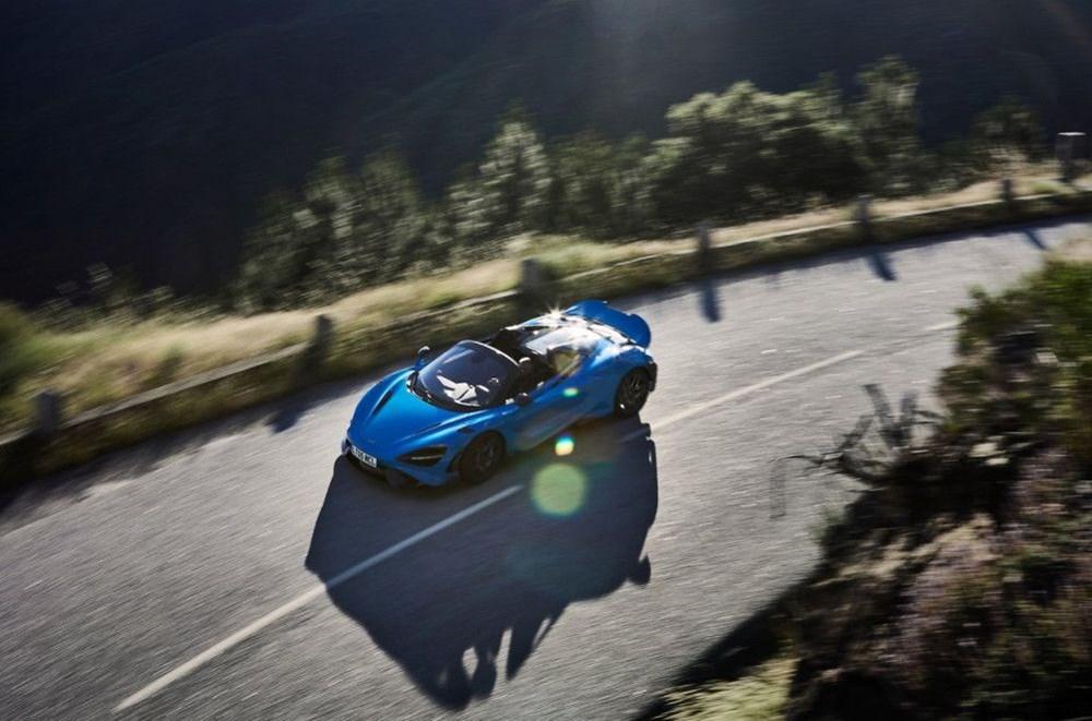 McLaren tarihinin en hızlı üstü açık modeli tanıtıldı:  765LT Spider - 7