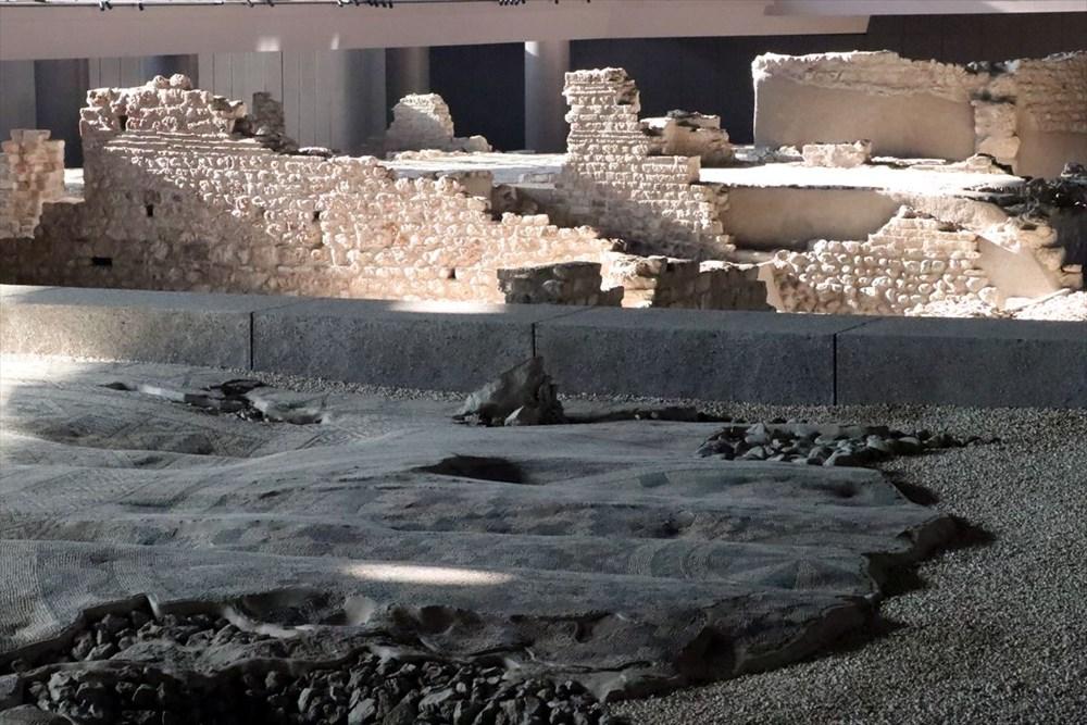 Hatay'da beş dönemin izlerini taşıyan Necmi Asfuroğlu Arkeoloji Müzesi ziyaretçilerini zaman yolculuğuna çıkarıyor - 12