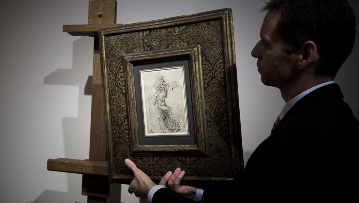 Leonardo da Vinci çizimi Aziz Sebastian davalık oldu