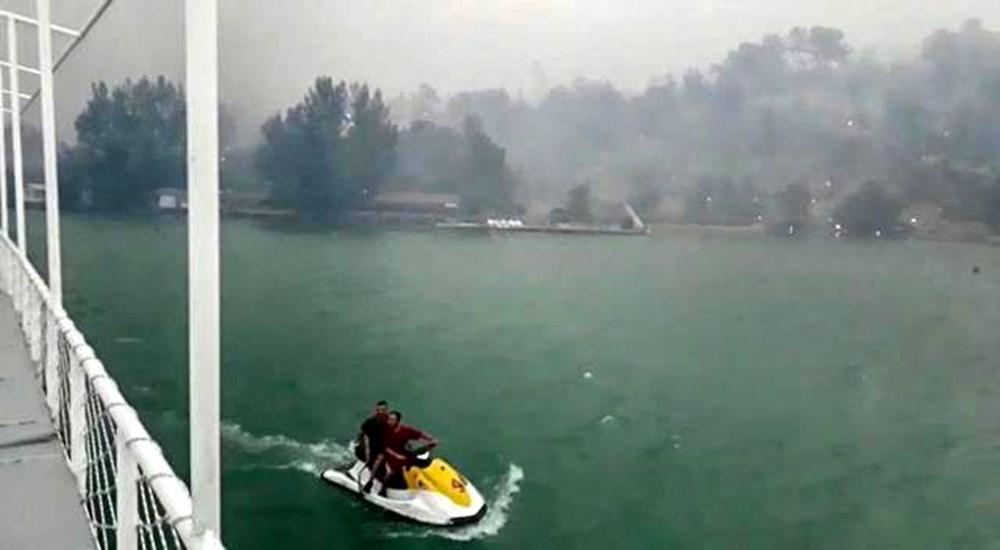 Manavgat Baraj Gölü'nde kurtarılmayı beklediler: Küllü, kömürlü sudan içtik - 3