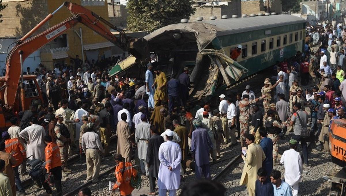 Train accident in Pakistan: 30 dead, 50 injured
