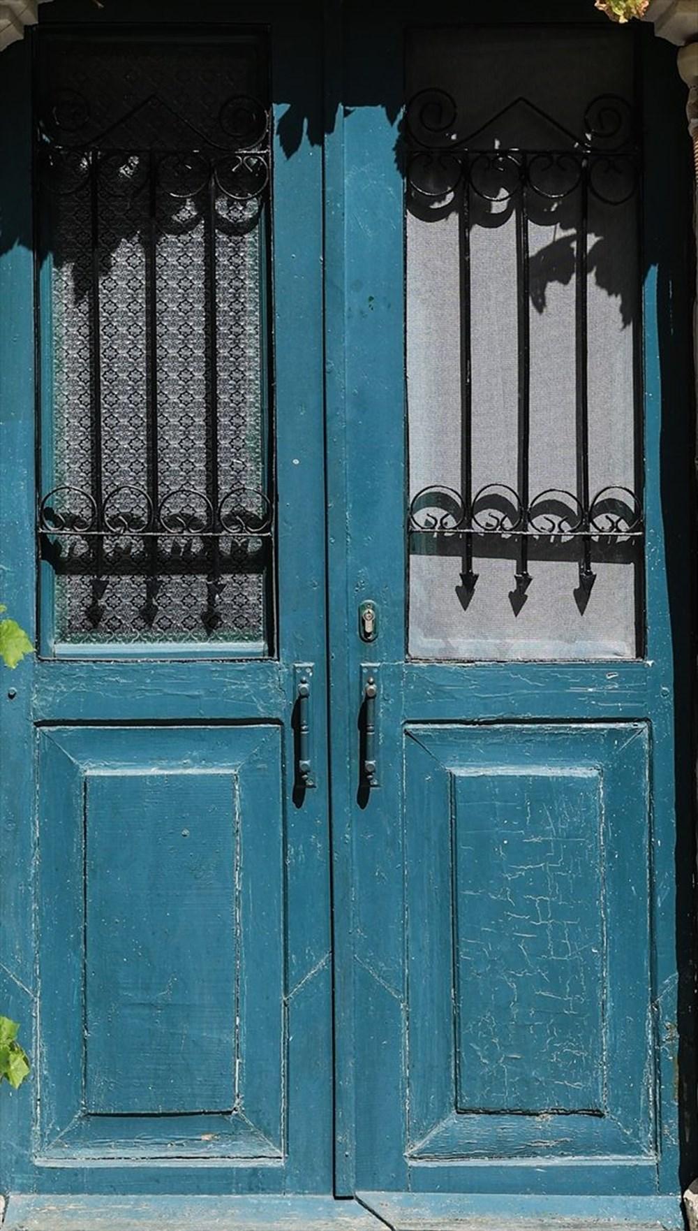 Foça'nın asırlık taş evleri yıllara meydan okuyor - 9
