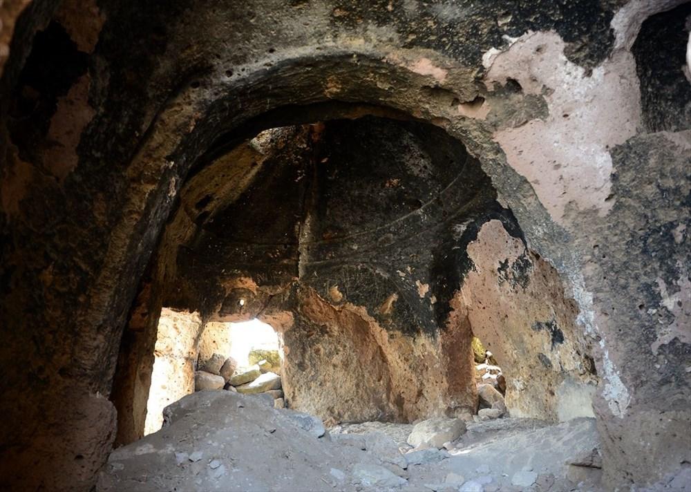 Bitlis'te binlerce yıllık 400 mağara evin bulunduğu 'Madavans Vadisi' turizme kazandırılıyor - 5