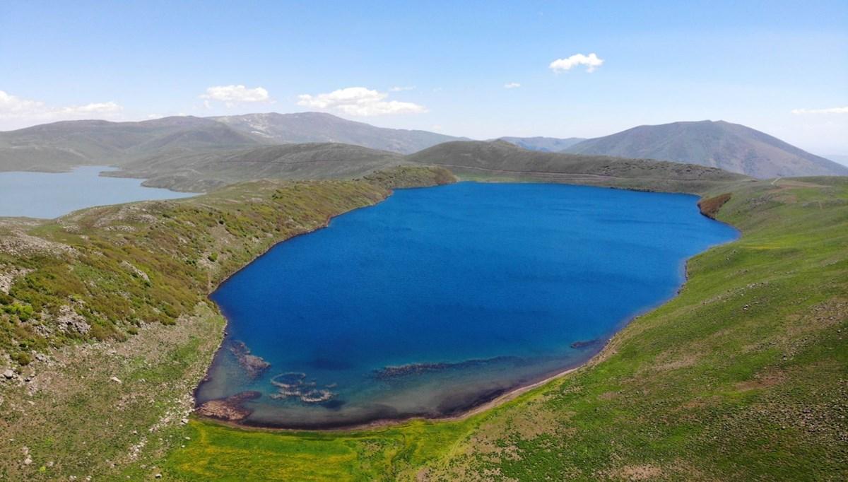 Muş'ta Hamurpet Gölleri görenleri doğasıyla mest ediyor