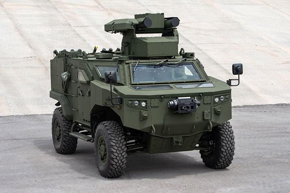 Dijital birliğin robot askeri Barkan göreve hazırlanıyor (Türkiye'nin yeni nesil yerli silahları) - 245