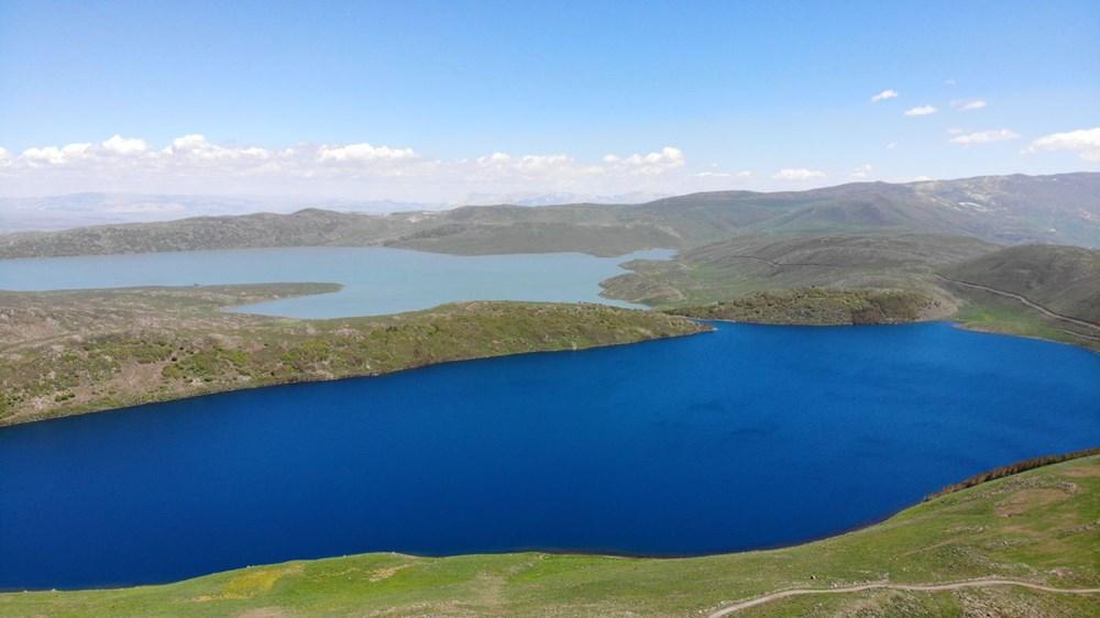 Muş'ta Hamurpet Gölleri görenleri doğasıyla mest ediyor - 2