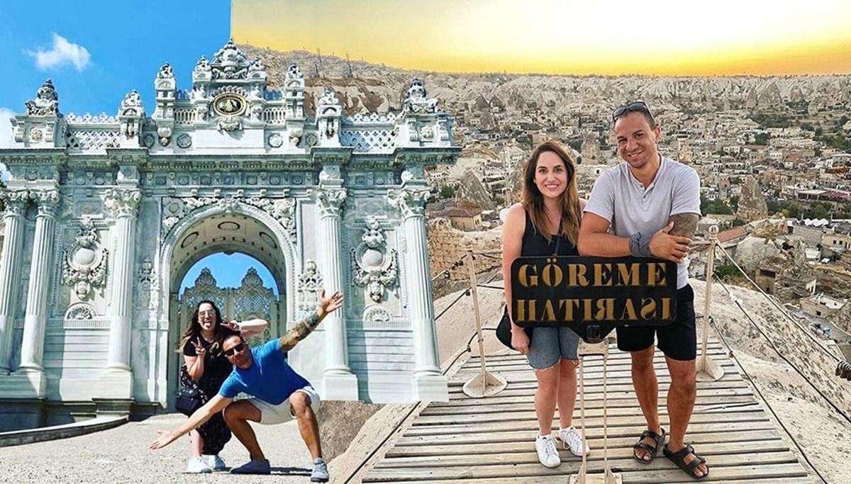 <span>Sosyal medyada tanıştılar, Türkiye'ye tatile geldiler</span>
