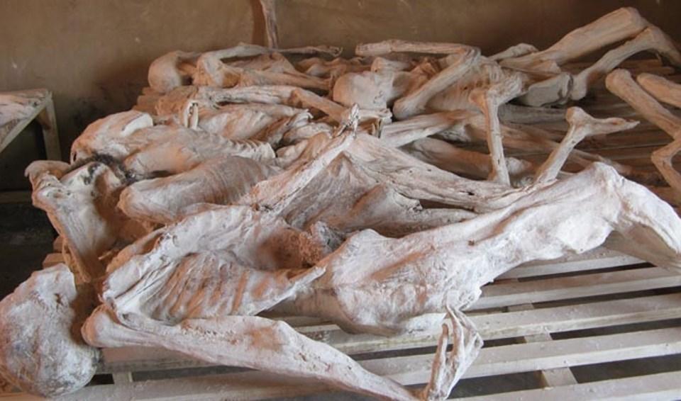 Şu anda Soykırım Müzesi'ne dönüştürülenMurambi Teknik Okulu'nda pek çok kişi öldürüldü.