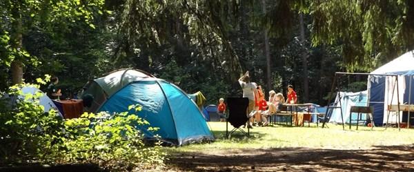 Kamp turizmine ilgi arttı
