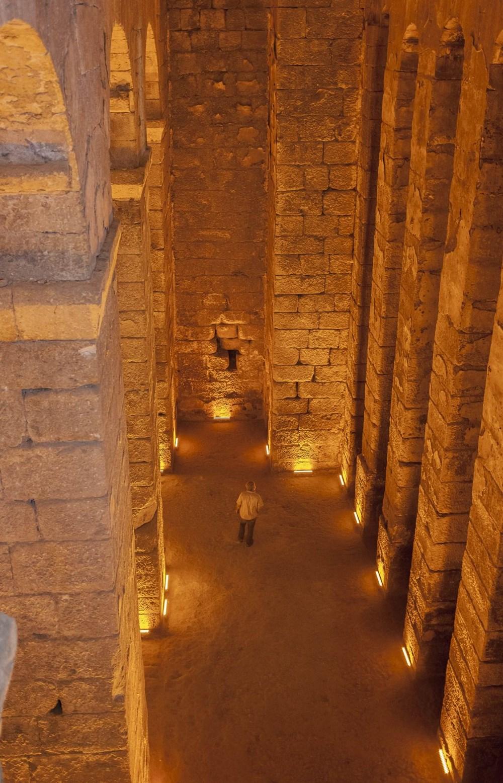 Dara Antik Kenti'nde ortaya çıkarılan sarnıç Yerebatan'dan daha derin - 10