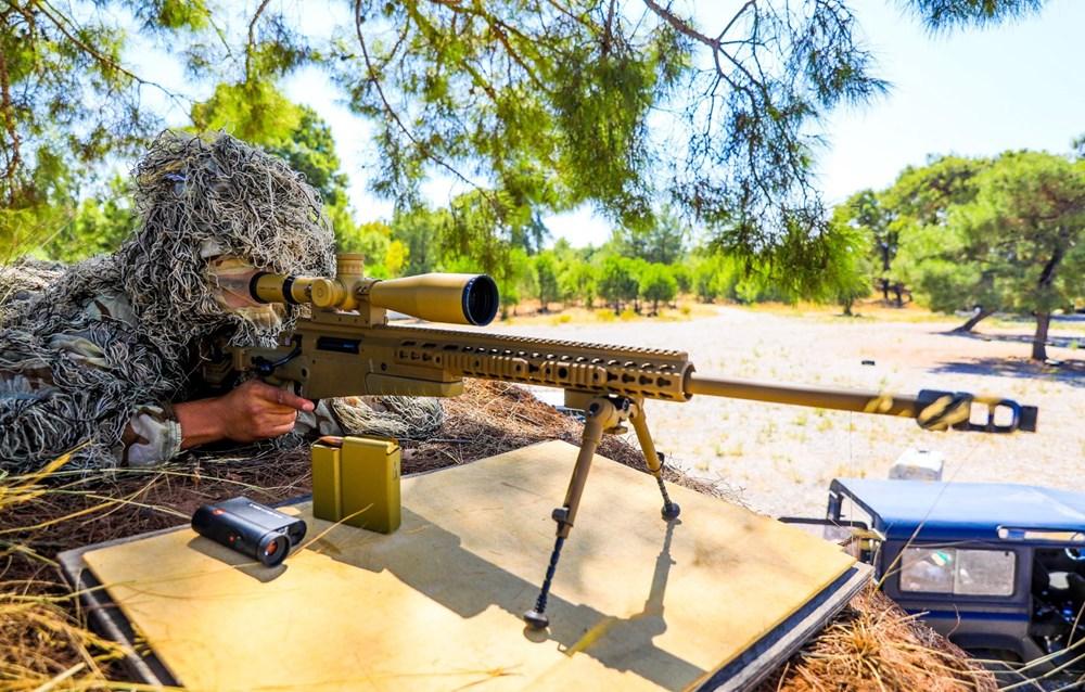 Özel Harekat'tan 35 derece sıcakta zorlu eğitim: Yerli silah 'Çılgın kız' dikkat çekti - 8