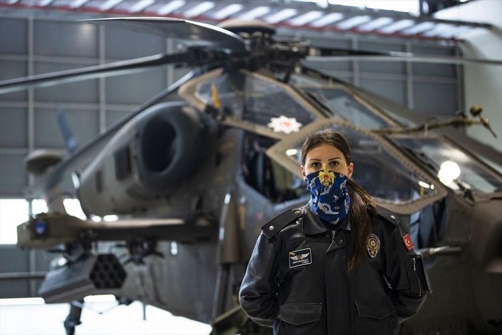 Türkiye'nin ilk kadın taarruz helikopter pilotu - 14