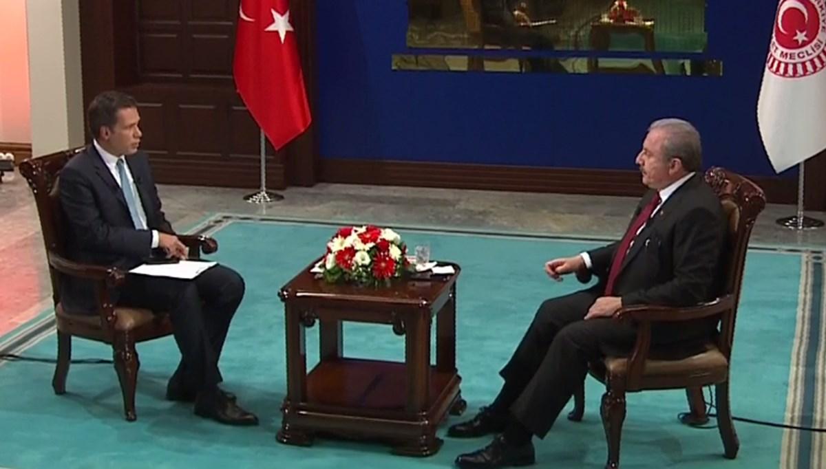 SON DAKİKA HABERİ:Meclis Başkanı Şentop NTV'de