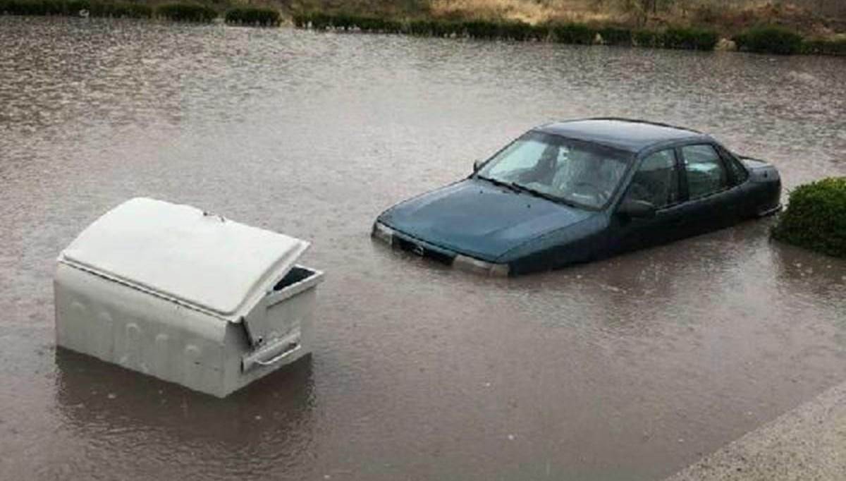 Ankara'da sağanak su baskınlarına yol açtı