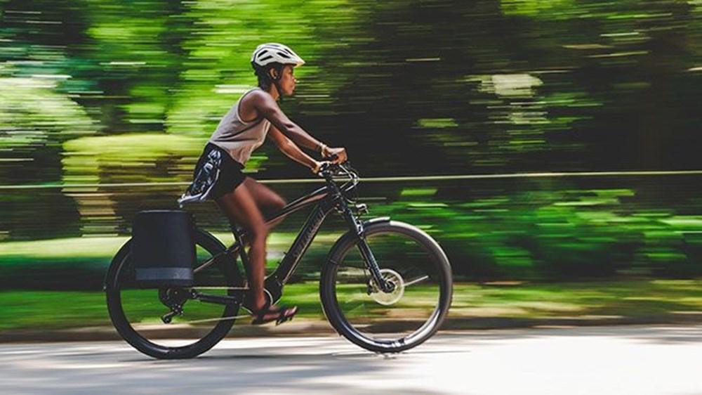 Trafiği radarlarla takip eden elektrikli bisiklet - 2