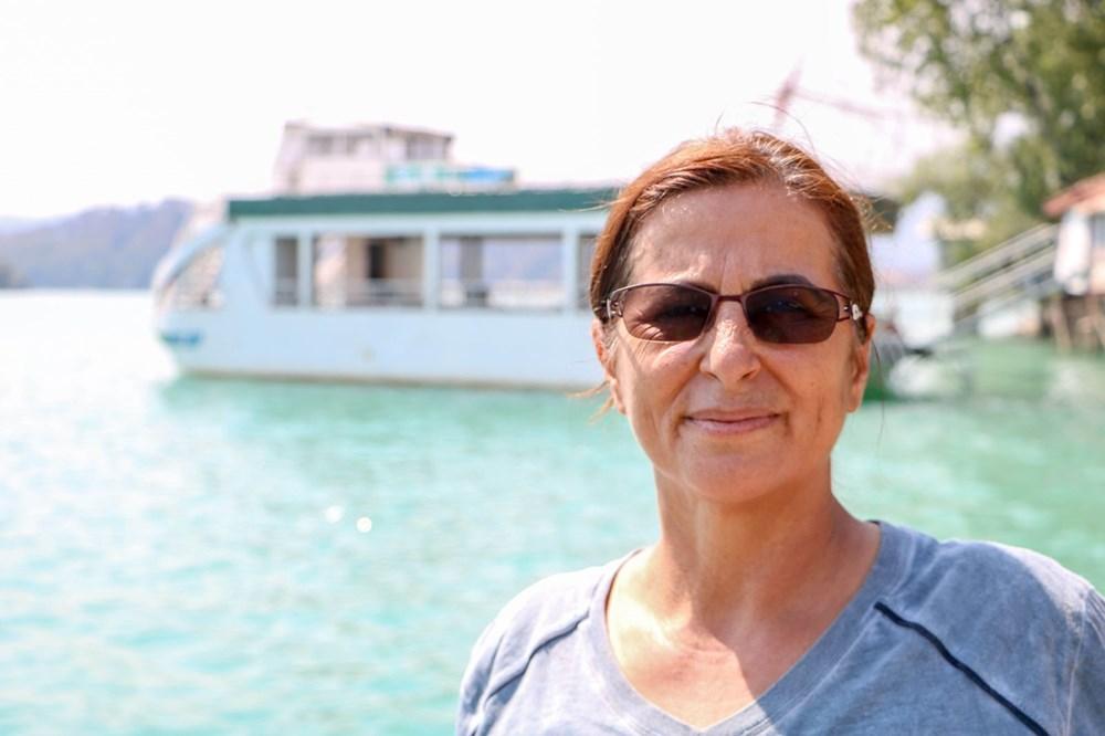 Manavgat Baraj Gölü'nde kurtarılmayı beklediler: Küllü, kömürlü sudan içtik - 6