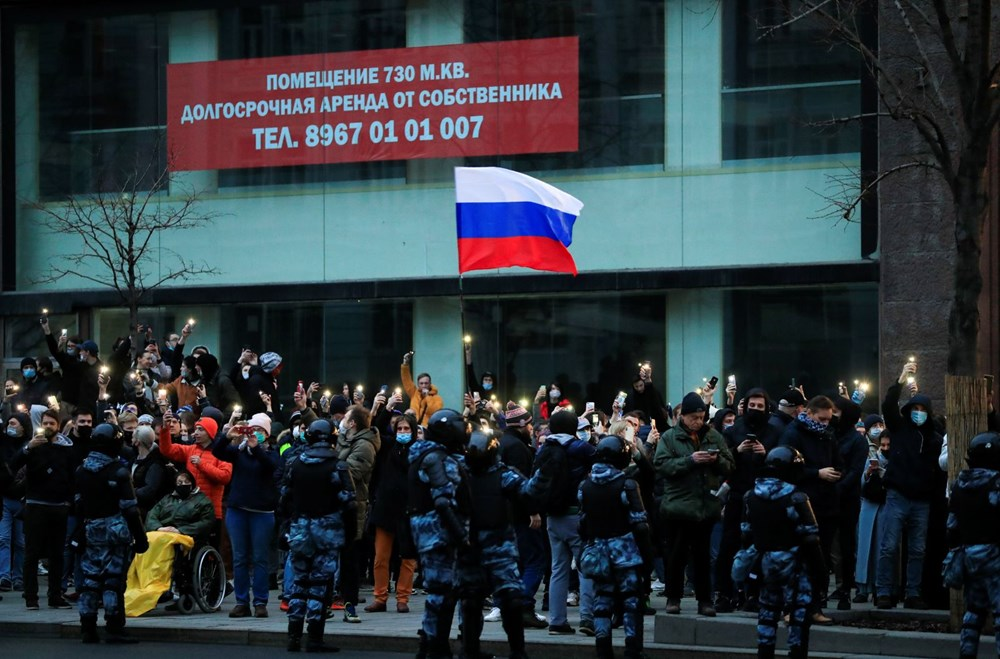 Rusya'da Navalny protestoları: Bin 700'den fazla kişi gözaltına alındı - 14