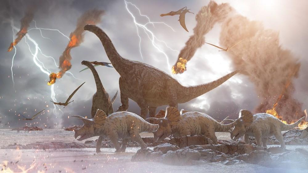 Dinozorları yok eden asteroidin oluşturduğu dev tsunaminin dalgaları 66 milyon yıl sonra ilk kez görüntülendi - 9
