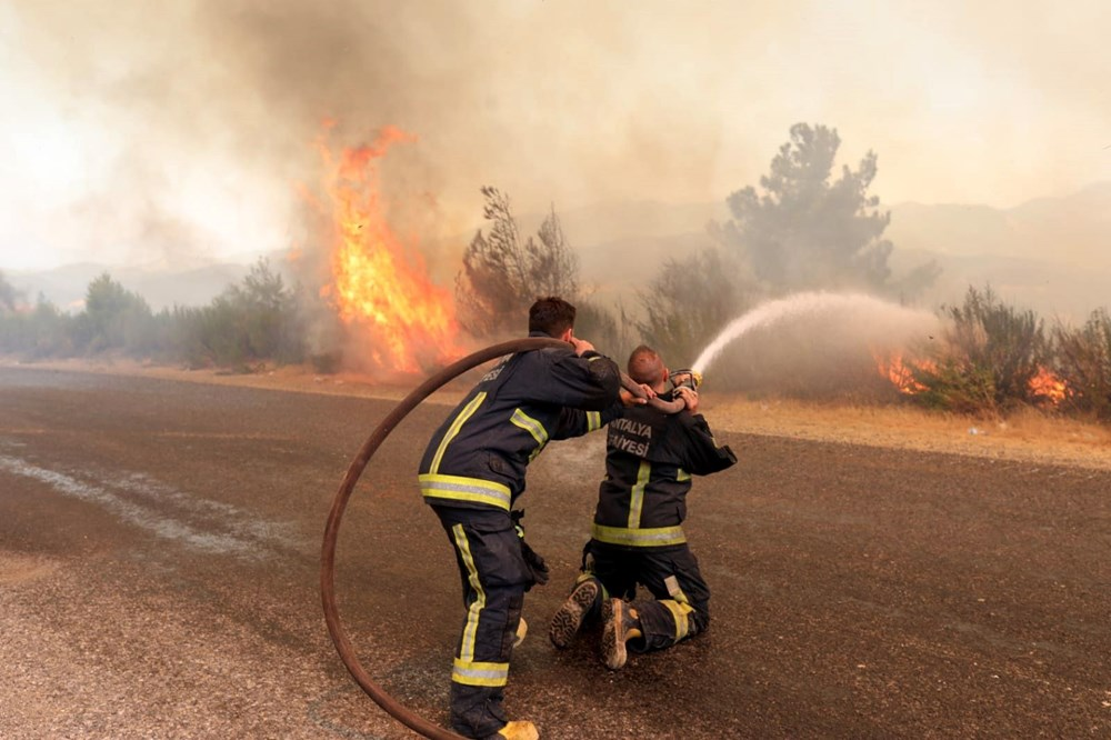 Balayını iptal edip yangınla mücadeleye koştu: Bana asıl şimdi ihtiyaç var - 4