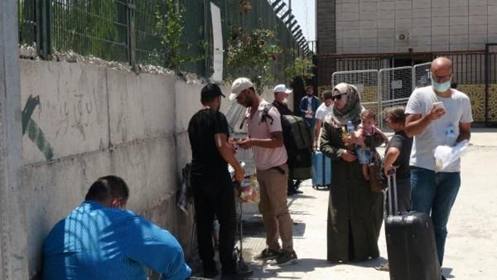 Suriyelilerin bayram dönüşü başladı - 6