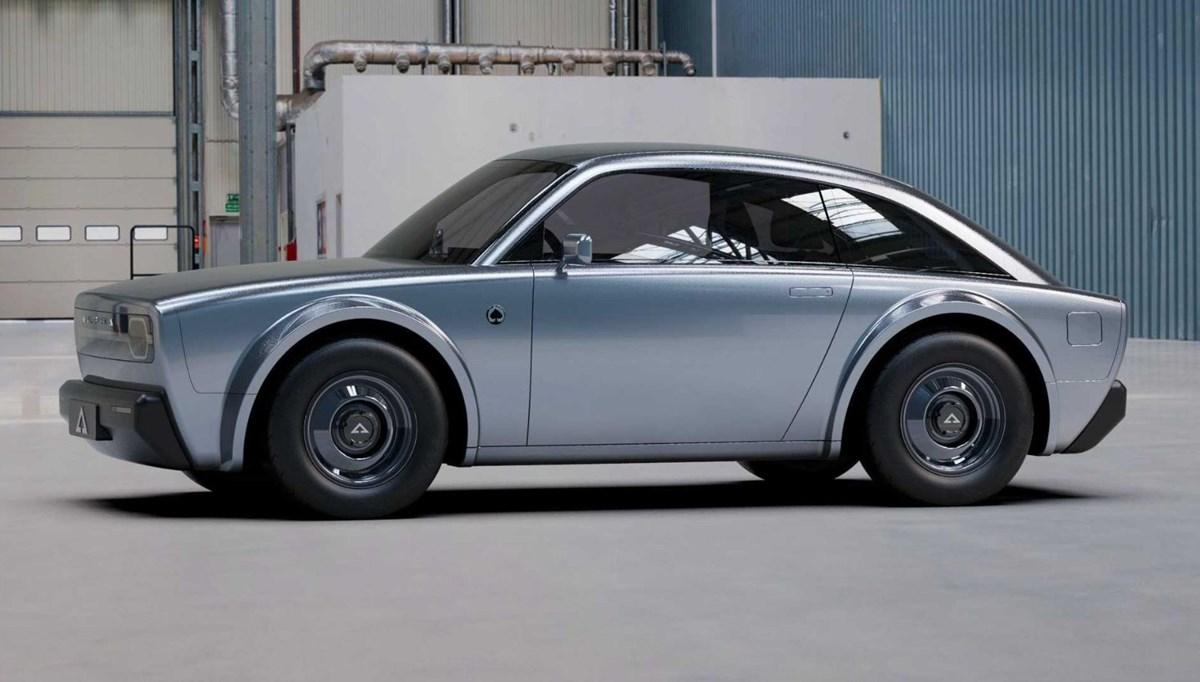 Retro tasarımlı elektrikli otomobil akımı devam ediyor