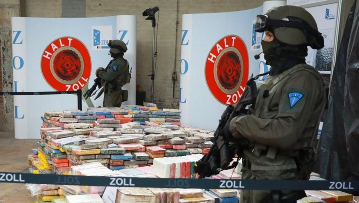 Almanya'da 300 milyon euro değerinde kokain ele geçirildi