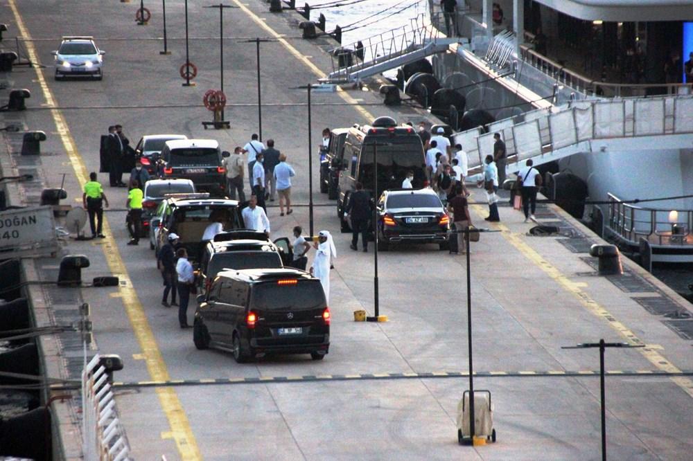 Katar kraliyet ailesi Bodrum'da: 2 kamyon eşya, 500 valiz - 4