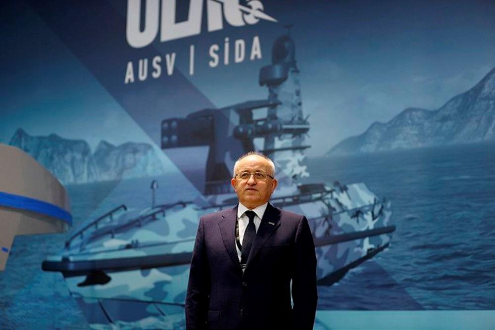 Milli fırkateyn 'İstanbul' denize indirildi (Türkiye'nin yeni nesil yerli silahları) - 16