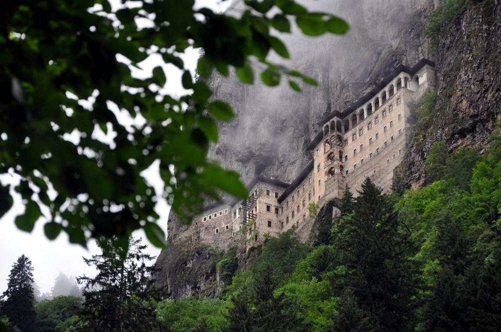 Sümela Manastırı 5 yıl sonra ziyarete açıldı - 1
