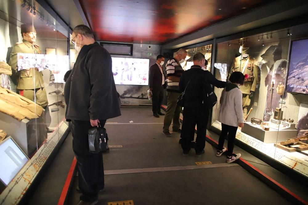 Çanakkale Savaşları Mobil Müzesi'nin 40'ıncı durağı Elazığ oldu - 5