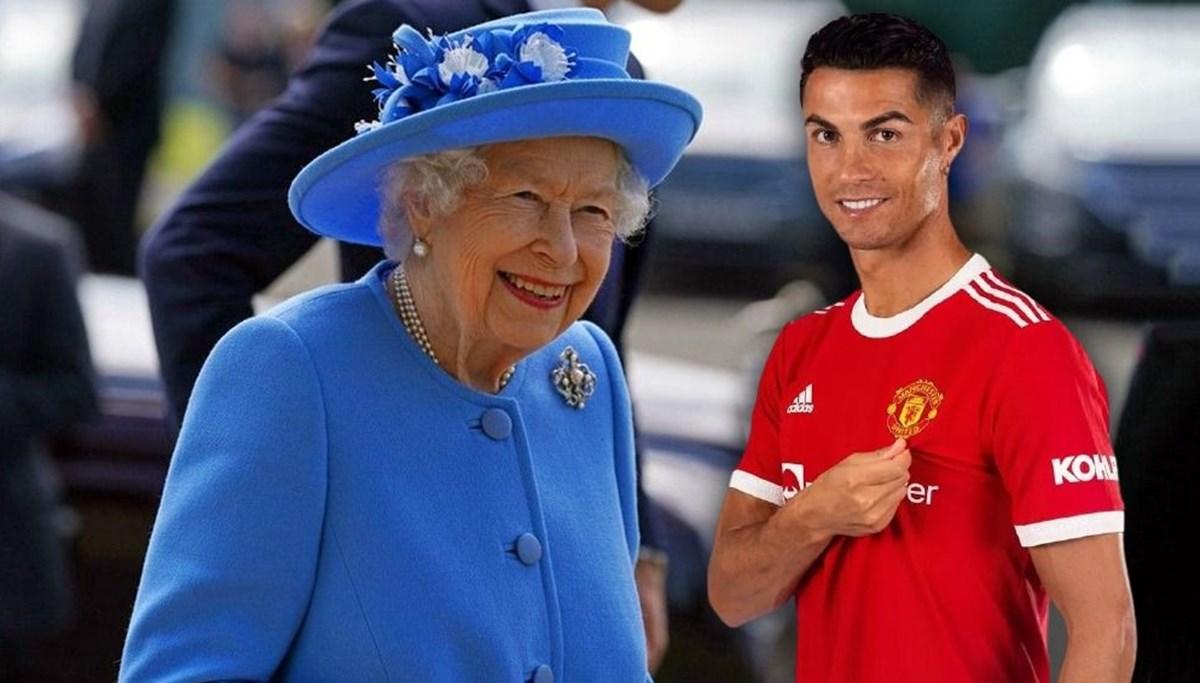 Kraliçe Elizabeth istedi Cristiano Ronaldo tarihe geçti