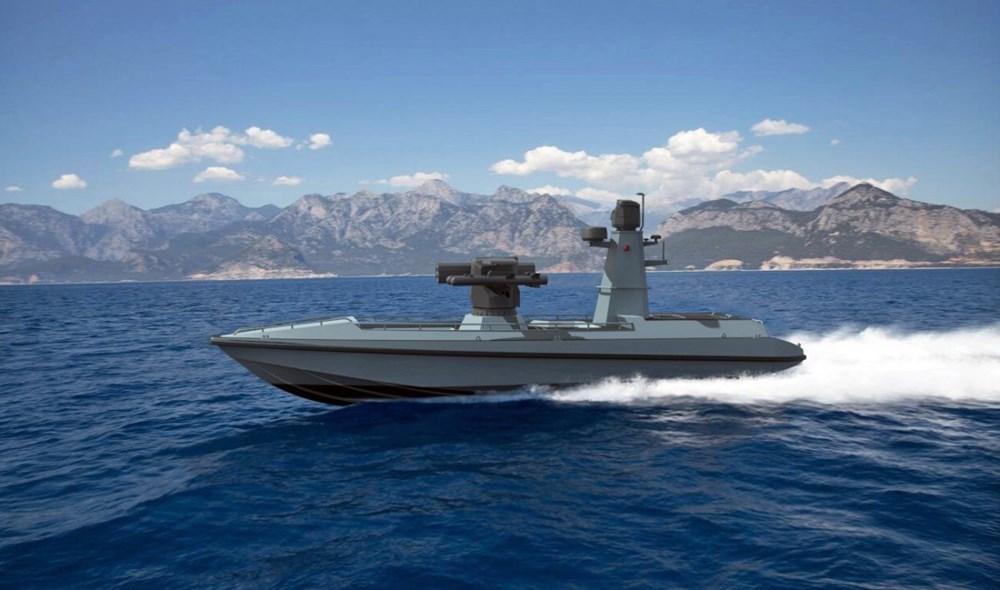 Türkiye'nin insansız deniz aracı sürüsü göreve hazırlanıyor (Türkiye'nin yeni nesil yerli silahları) - 37