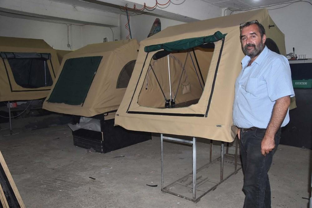 Kamp merakı üretici yaptı: Şimdi siparişlere yetişemiyor - 11