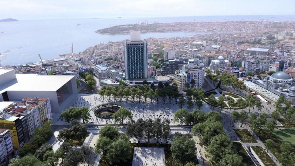 Taksim Meydanı Tasarım Yarışması sonuçlandı (Taksim Meydanı böyle olacak) - 18