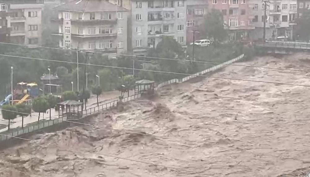 Doğu Karadeniz yine sele teslim - 9