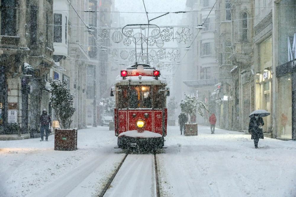 İstanbul'da kar yağışı yeniden etkisini artırdı - 2