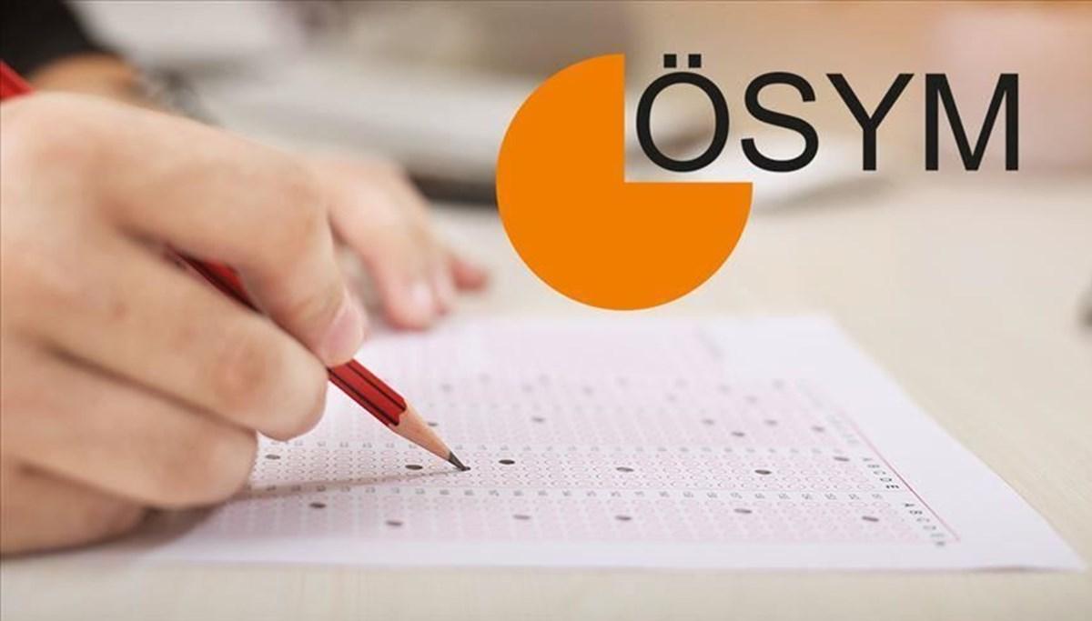 ÖSYM'den 2021-KPSS ÖABT'ye girecek adaylara sınav saati uyarısı