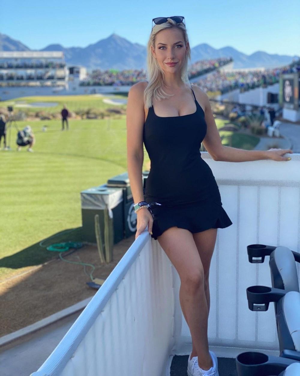 Golf yıldızı Paige Spiranac'ın her paylaşımı servet değerinde - 8