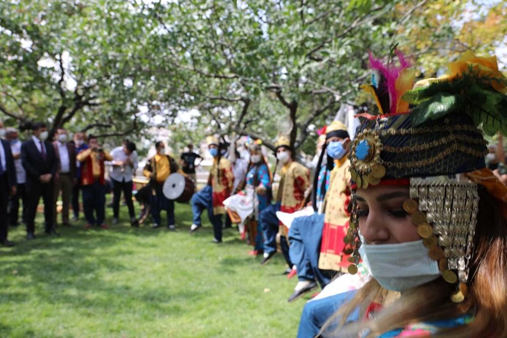 GastroAntep Festivali, fıstık hasadı ve şire yapımı ile başladı - 12
