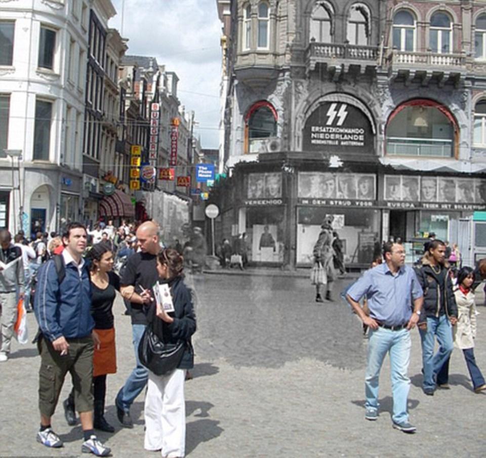 Burası şimdi bir turist uğrak yeri olabilir, ama Alman işgali sırasında SS'in asker alma ofisini barındırıyordu