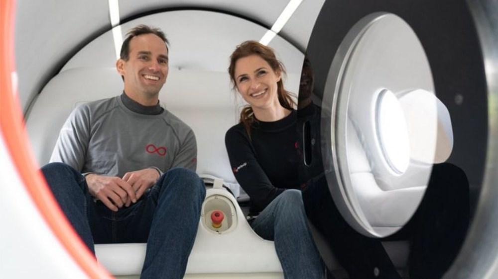 Hyperloop insanlı testlere başladı (Saatte 1000 kilometre hıza ulaşacak) - 2