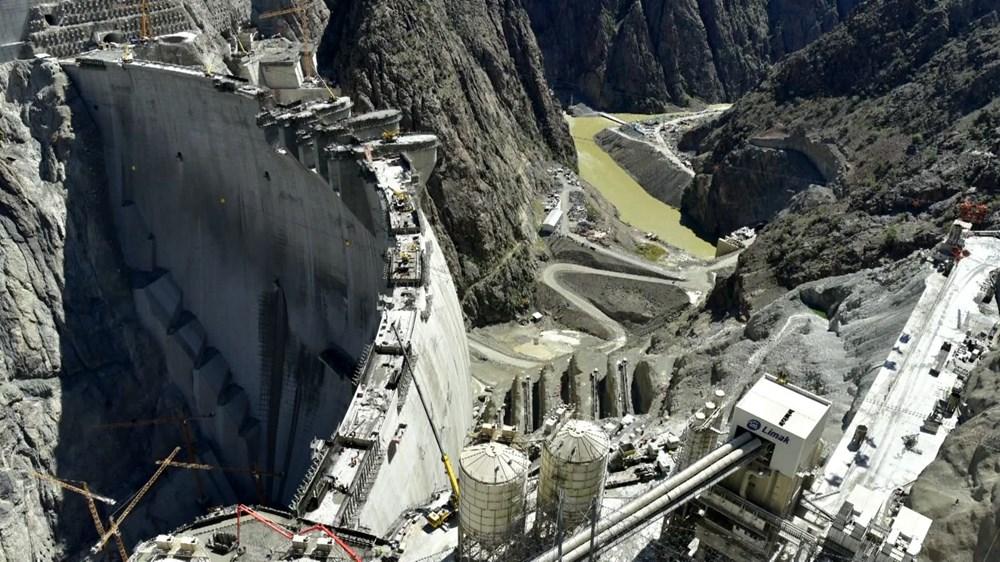 Türkiye'nin en yüksek barajında ekonomiye yıllık 2 milyar TL katkı - 3